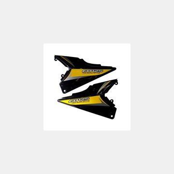 Honda CB 125 Ace Akü Yan Kapak Takım  Resimi