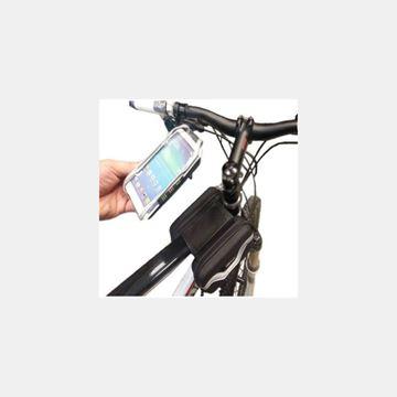 X Bicycle Kadro Üstü Telefonluklu Heybe Çanta Resimi