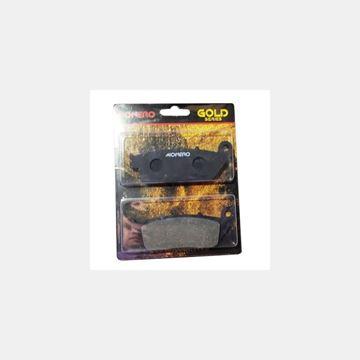 CBR 250 Ön Fren Balatası 11-13 Monero Gold Resimi