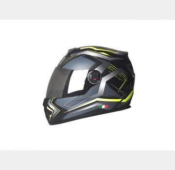 Sway 806 Fullface Mat Green/Black Kask Resimi