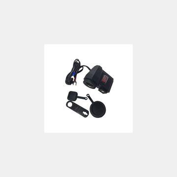 Motosiklet Çakmaklık Universal USB Girişli Resimi