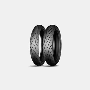 Michelin Pilot Street 110-70x17//140-70x17 Takım Lastik Resimi