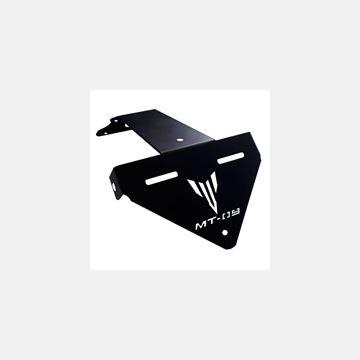 Özel Üretim Yamaha MT09 Kuyruk Altı Plakalık Lazer Kesim Resimi