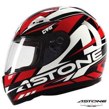 Astone GTO Fullface Kask Kırmızı Resimi
