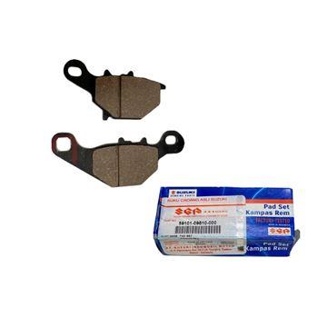 Suzuki Adress 110 Tip 1 Ön Fren Balatası 59101-09810-000 Resimi
